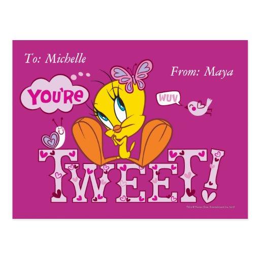 You're Tweet Post Cards
