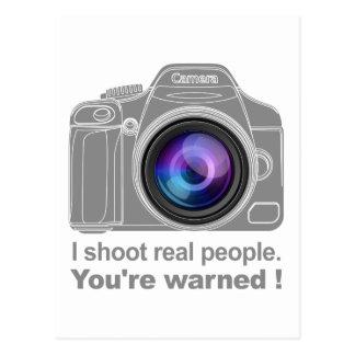 You're Warned! Postcard
