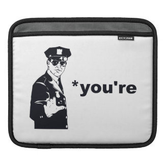 You're Your Grammar Police iPad Sleeves