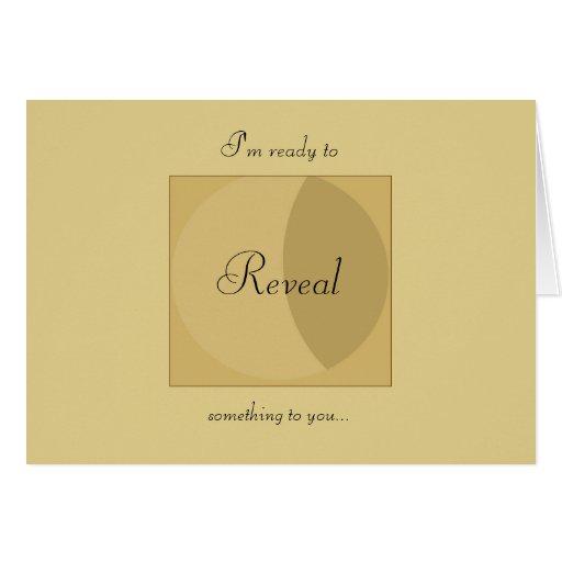 YouReveal.com Notecard Greeting Cards
