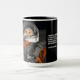 Youri Gagarine quote Mug