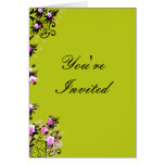 Your're Invited Greeting Card