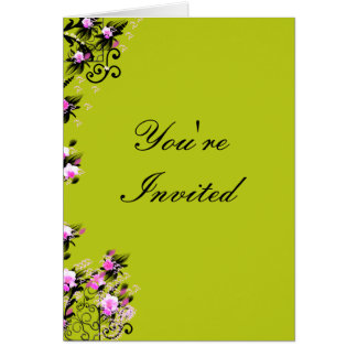 Your're Invited Note Card