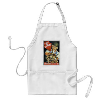 Yours For Victory Aprons
