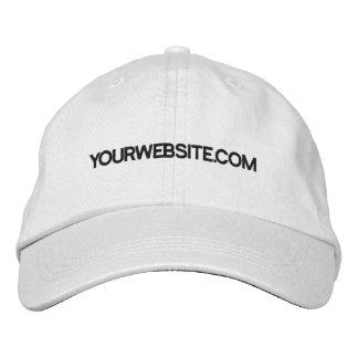 YourWebSite.com Embroidered Hat