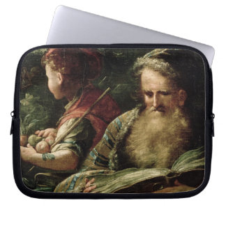Youth and Age (oil on panel) Laptop Sleeve