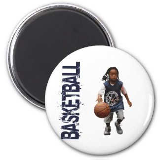 Youth Basketball 6 Cm Round Magnet