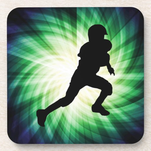 Youth Football Beverage Coasters