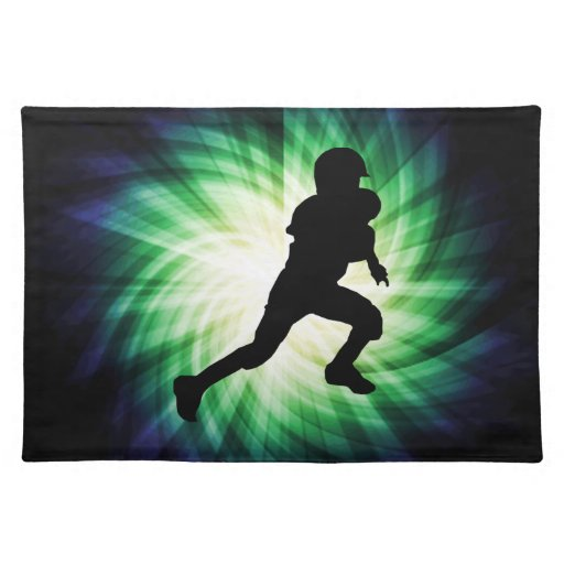 Youth Football Place Mat