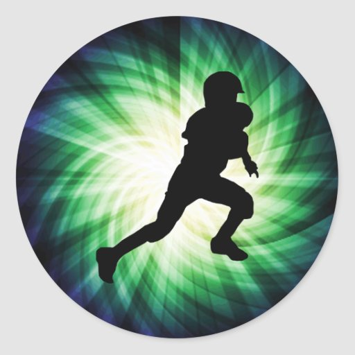 Youth Football Sticker