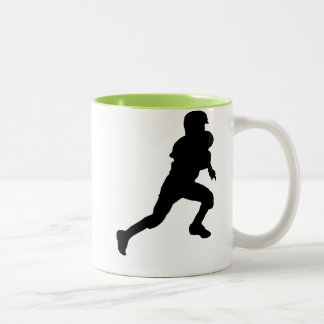 Youth Football Two-Tone Coffee Mug