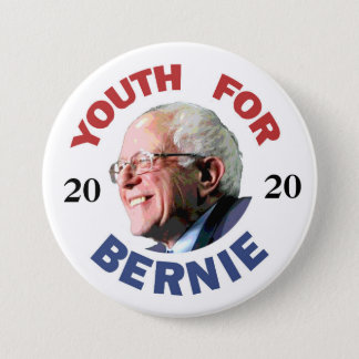 Youth for Bernie 2020 7.5 Cm Round Badge
