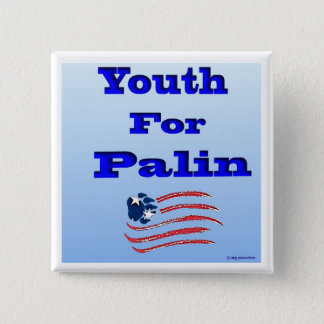 Youth for Palin Button