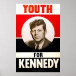 Youth for President John F. Kennedy Print