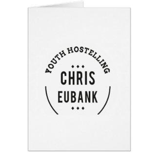 YOUTH HOSTELLING CHRIS EUBANK alan partridge Card
