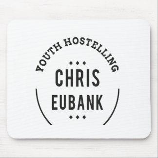YOUTH HOSTELLING CHRIS EUBANK alan partridge Mouse Mat
