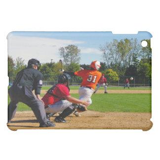Youth League Baseball Batter Hitting Ball Cover For The iPad Mini