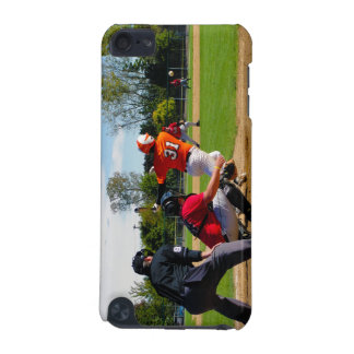 Youth League Baseball Batter Hitting Ball iPod Touch 5G Covers