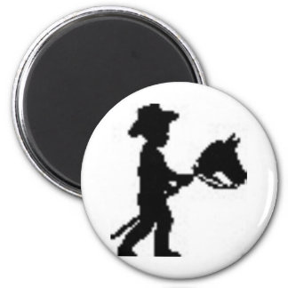 Youth National Day of the Cowboy 6 Cm Round Magnet