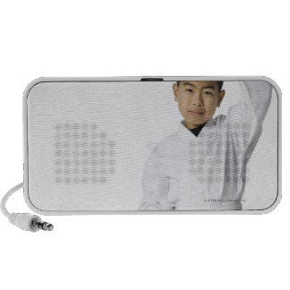 youth practicing martial arts 3 PC speakers