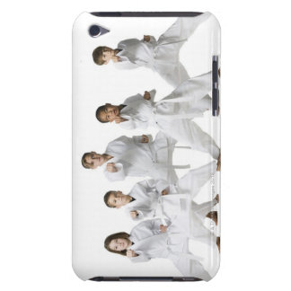 youth practicing martial arts 4 barely there iPod case