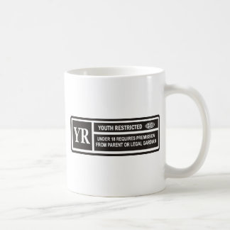 YOUTH RESTRICTED MUGS
