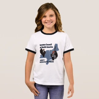 Youth Ringer SCNA North Atlantic Logo shirt
