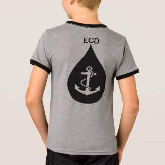 Youth Tear Drop Anchor T - Shirt