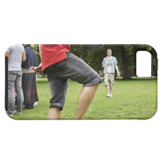 youth, young, friends, park, bbq, grass, trees, tough iPhone 5 case