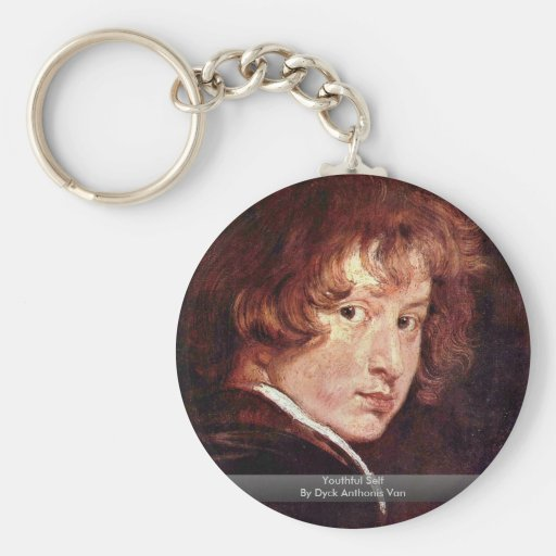 Youthful Self By Dyck Anthonis Van Key Chains