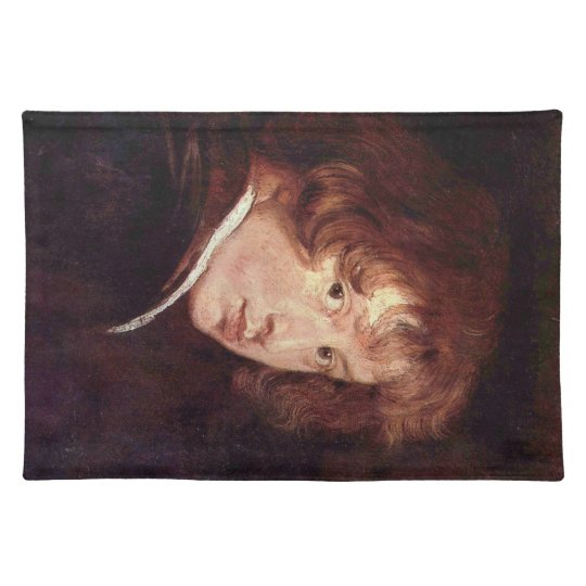 Youthful self-portrait by Antoon van Dyck Place Mats