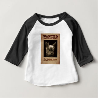 Youthful Yorkie Wanted Child Shirt