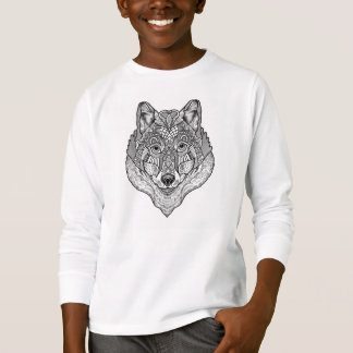 Youths Wolfy Long sleeve T-Shirt