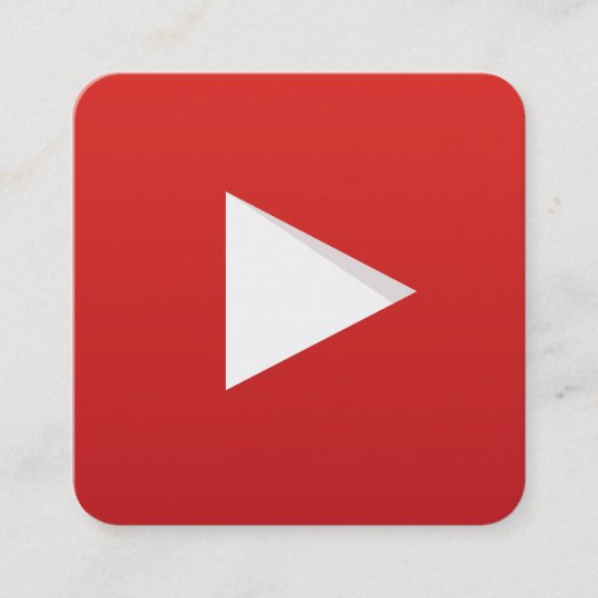 Youtube channel square business card zazzle youtube channel square business card colourmoves