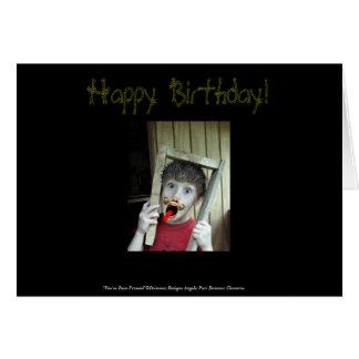 You've Been Framed Birthday Card