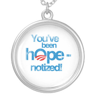 You've been hopenotized Faded.png Custom Necklace