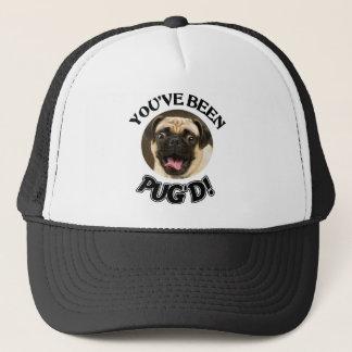 YOU'VE BEEN PUG'D! - FUNNY PUG DOG TRUCKER HAT