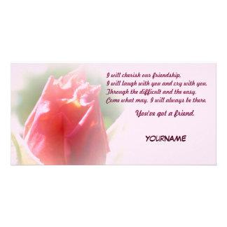 You've got a friend Friendship Customized Photo Card