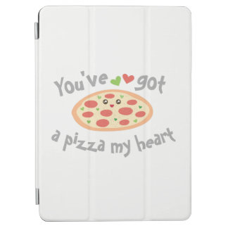 You've Got a Pizza My Heart Cute Funny Love Pun iPad Pro Cover