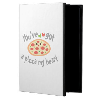 You've Got a Pizza My Heart Funny Punny Food Humor Case For iPad Air