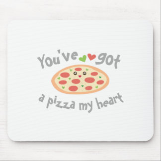 You've Got a Pizza My Heart Funny Punny Food Humor Mouse Mat