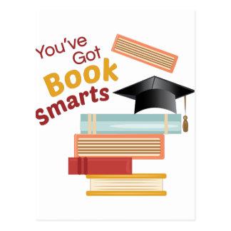 You've Got Book Smarts Postcard