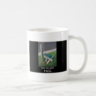 you've got fail! basic white mug