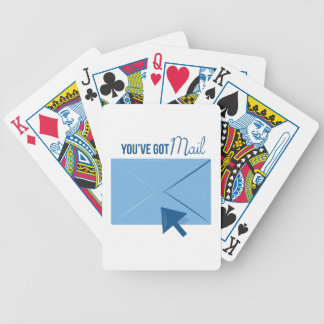 Youve Got Mail Bicycle Poker Deck