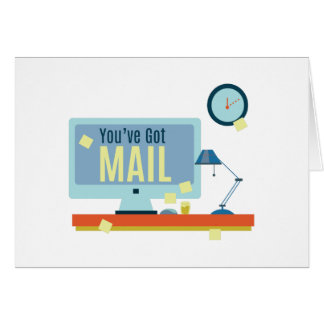 Youve Got Mail Greeting Card