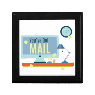 Youve Got Mail Small Square Gift Box