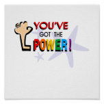 You've got the power print