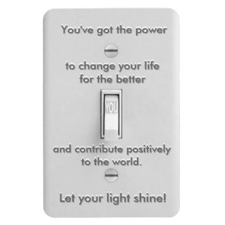 You've Got the Power! Rectangular Photo Magnet
