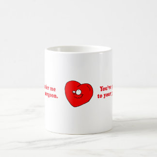 YOUVE GOT TO REFER ME TO YOUR PLASTIC SURGEON CLASSIC WHITE COFFEE MUG