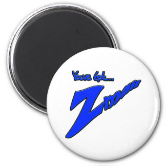 Youve Got Z-mail-The funny fad thats real 6 Cm Round Magnet